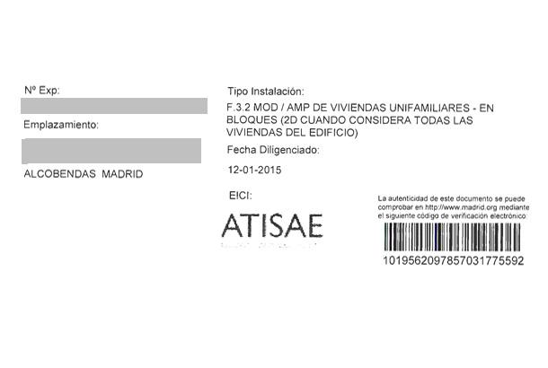 verificación certificado eléctrico